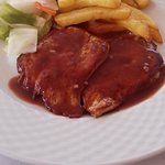 Pork Fillet with Red Wine Sauce
