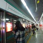 昆明長水国際空港の地下鉄駅です。