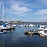 Styrsö Tangen marina views.