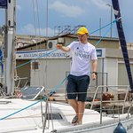 Main yacht Instructor of the GoGetSport - Maxim Gasumyants
