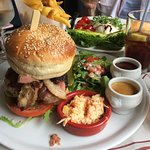 Gigantic hamburger