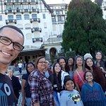 Meu grupo e o Palácio Quintandinha