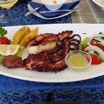 grilowana ośmiornica (grilled octopus)