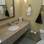 Room 215 bathroom