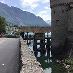 דרך הגישה לגשרון שמחבר את המולדת אל האי