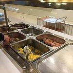 早餐的熟食區