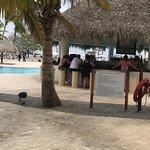 Bar/swim up bar by the main pool