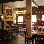 cosy dining area at 'the telegraph'
