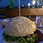 Burger at night, romantic or what?!