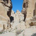 صورة فوتوغرافية لـ خزنة فرعون (الخزنة)