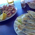 Calamari e sardine