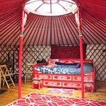 Big Red Yurt