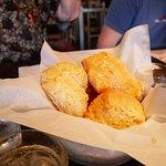 Honey glazed muffins
