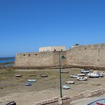 Low tide, Castillo de Santa Catalina