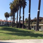 The beautiful lawn is preserved Chumash land