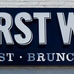 First Watch Signage