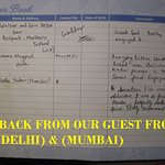 FEED BACK FROM OUR GUEST FROM (DELHI)(MUMBAI )& (U.K)