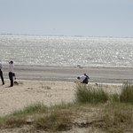 avant marée basse au retour pour rejoindre voiture marée haute
