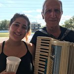 We loved the accordion music also