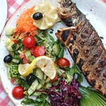 Chargrilled Seabass