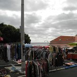 Some of the many stalls