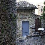 """Photo de Lagorce, village dans lequel se trouve le restaurant """"les tilleuls"""""""