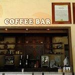 Barra de bebidas a base de cafe
