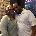 Eddie & his wife Kristen won concert tix for Slaughter - a meal at Rock & Brews & slot play!