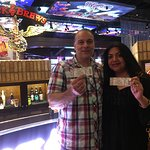 Club Serrano member Namreeta and Anthony won a concert with rock band Slaughter on June 29, 2018