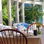 Breakfast area and sunroom nook