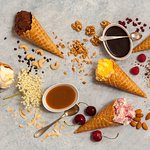 Home made icecream, only natural ingredients
