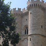 The Grand Masters Palace on our tour of Rhodes old town.