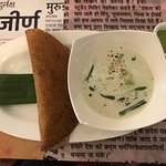 Dosa with stew