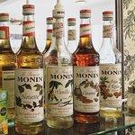Monin Syrups Available