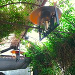 Patio heat lamps