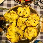 Grilled artichoke flowers