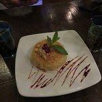 Syrian cheesecake dessert