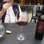 If you are thirsty combine water and red Italian wine