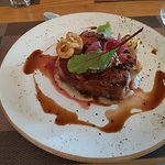 Sirloin steak (medium-rare)