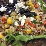 Quinoa & Artisan Greens Salad - blueberries, feta cheese