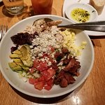 California Cobb salad with some beets