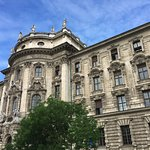 Palace of Justice building in Munich