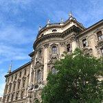 Nice facade of Justizpalast