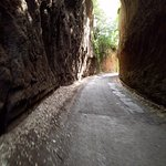 Walking along Strada Signorino and Via Francigena