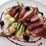 Crispy duck breast