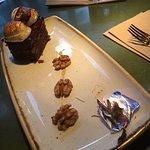 Dessert! Always welcome. Delicious!