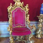 Red throne room