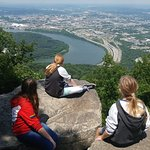 an amazing view of chattanooga & Tennessee River