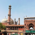 Just opposite to the famous Jama Masjid