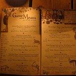 Game Meats - Menu